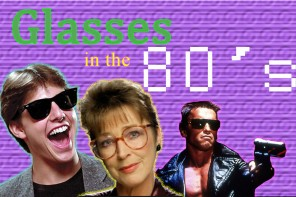 On Trend: Glasses in the Eighties!