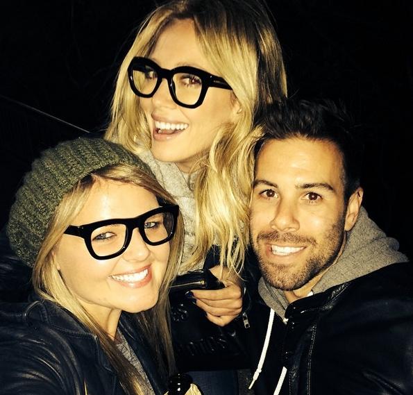 Hilary Duff glasses