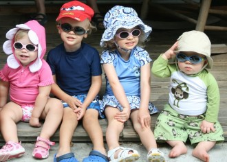 Kids With Sunglasses