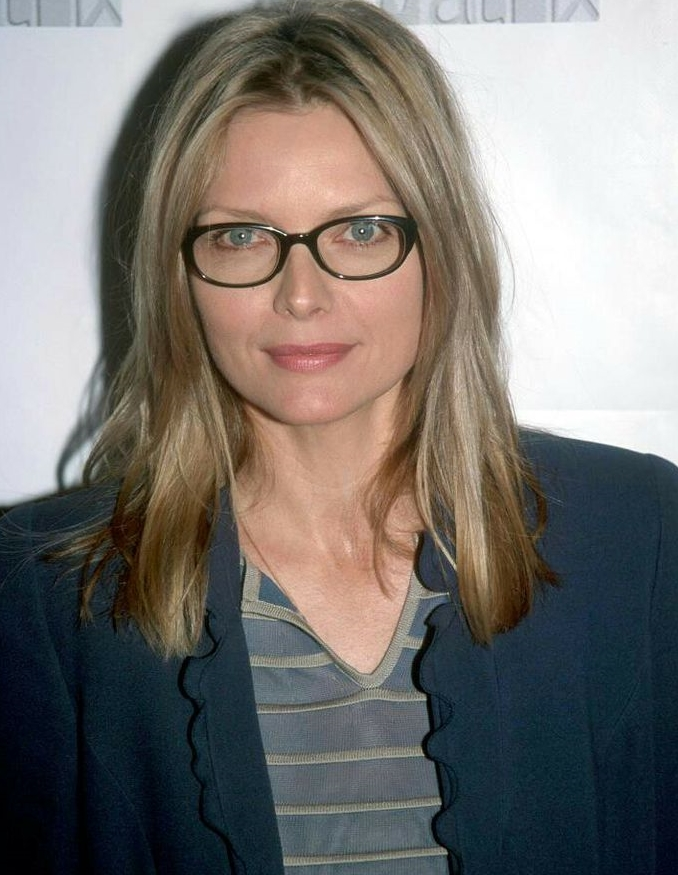 Michelle Pfeiffer with glasses
