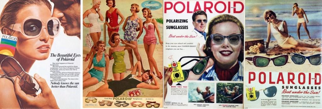 Polaroid vintage posters