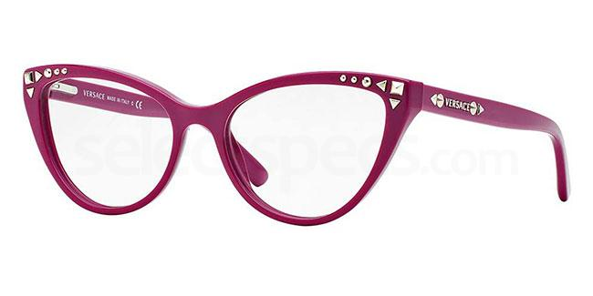 Versace coloured cat eye glasses