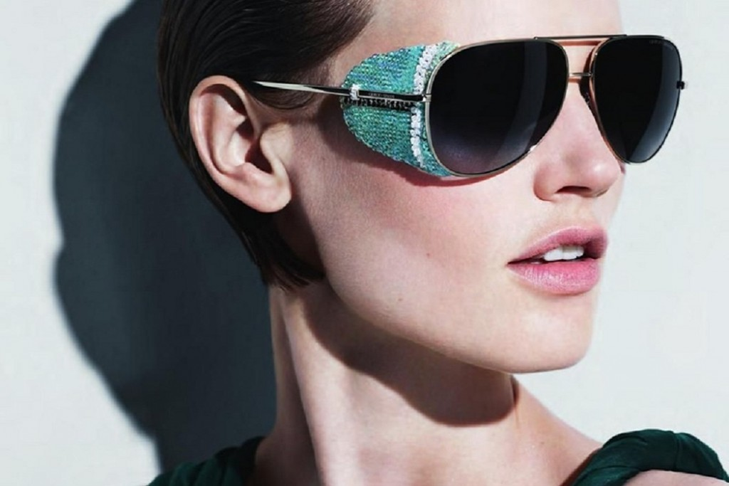 Trend alert winged sunglasses with side