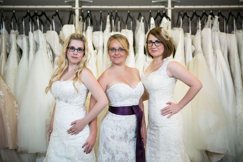 Bride in wedding dress - 3
