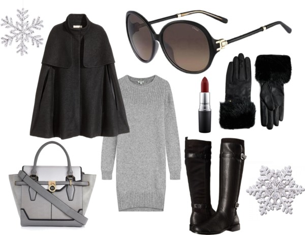 6403d4b4a7 First up we have a look for the fashionistas that s chic and sophisticated  – perfect for winter in the city. Over-sized sunglasses such as the Chloe  CE639SL ...