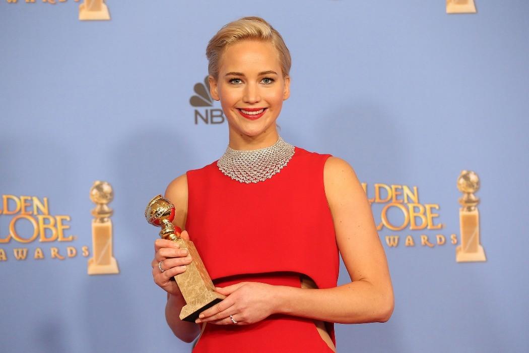 Golden Globe Awards 2016- Jennifer Lawrence
