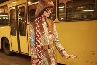 Gucci SS16 fashion campaign glasses