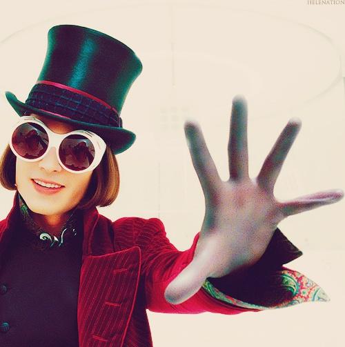Johnny Depp-Glasses-Willy Wonka