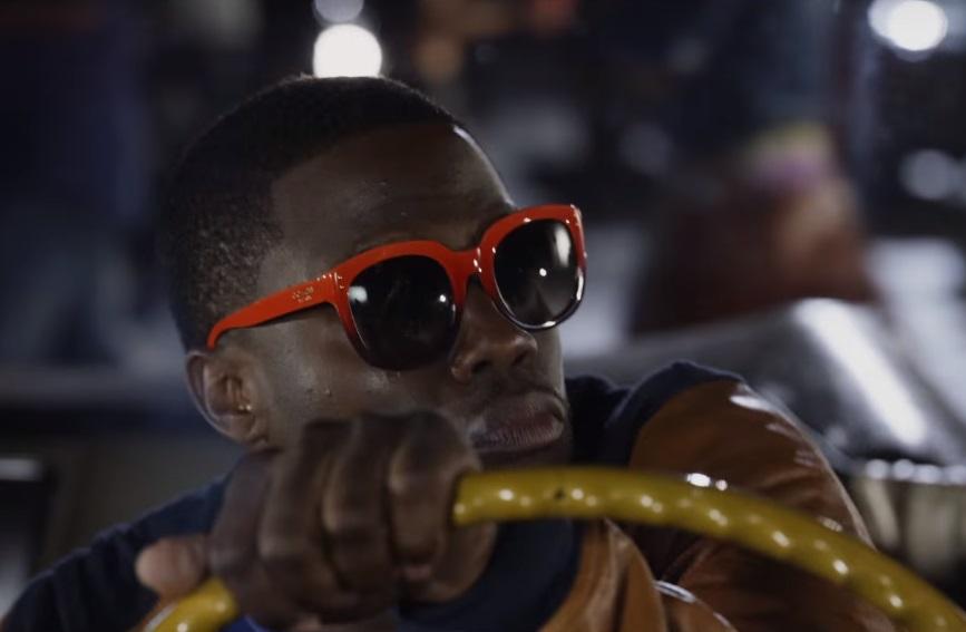 Ride Along 2 Kevin Hart orange sunglasses