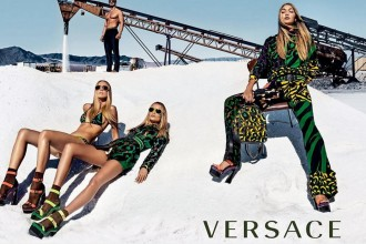 Sunglasses from Versace SS16 campaign