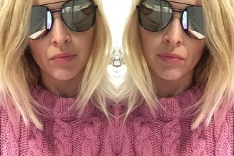 Elizabeth and James aviator sunglasses Fearne Cotton