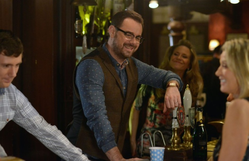 Danny Dyer as Mick Carter Eastenders Reading Glasses