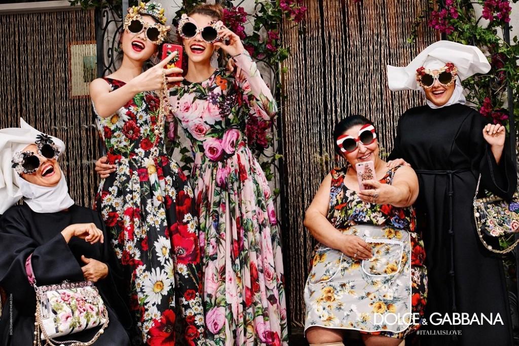 Dolce and Gabbana 2016 eyewear campaign