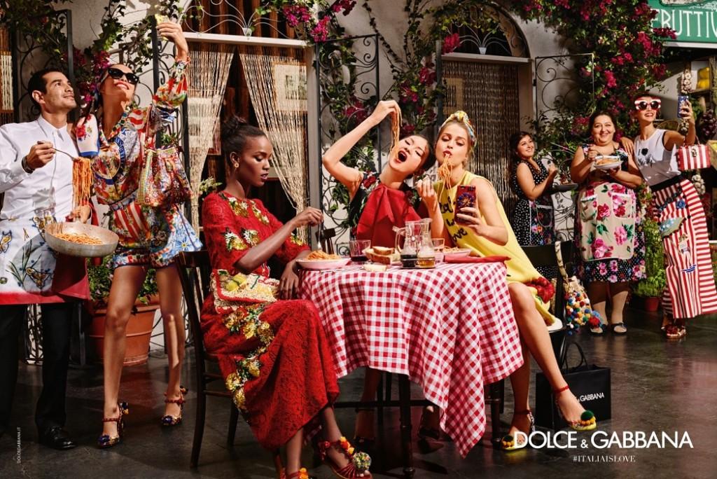 Dolce and Gabbana 2016 summer eyewear campaign