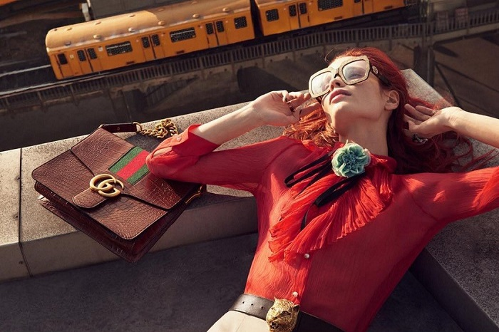 Gucci Oversized Square Sunglasses  ss16 trend report bring back the sixties fashion lifestyle