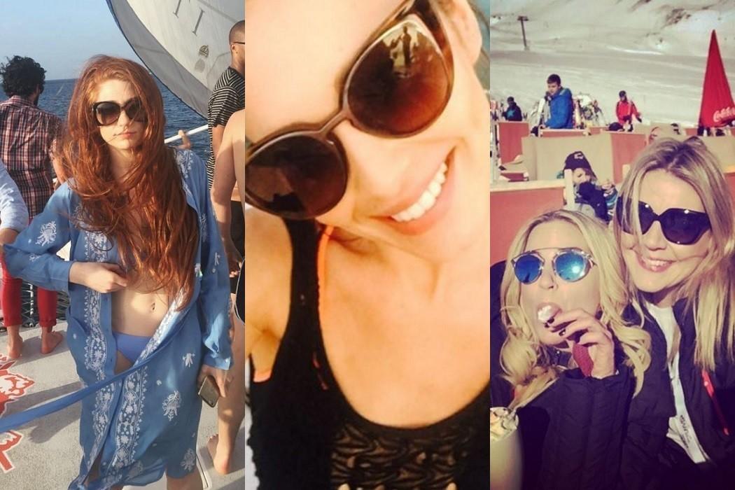 Cheryl Fernandez Versini, Nicole Roberts, Sarah Harding Girls Aloud sunglasses style inspiration