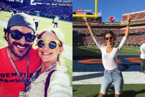 The Best Celebrity Sunglasses Spotted at Super Bowl 50