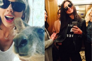 Taylor Swift, Selena Gomez & Gigi Hadid: The Cutest Sunglasses Selfies on Instagram