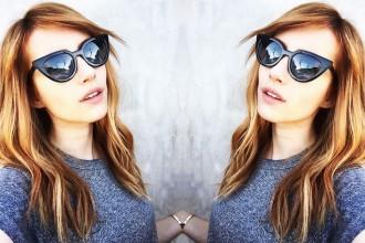 Emma Roberts sunglasses