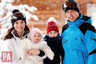 Oakley Ski Goggles Prince William Royal Family 2016