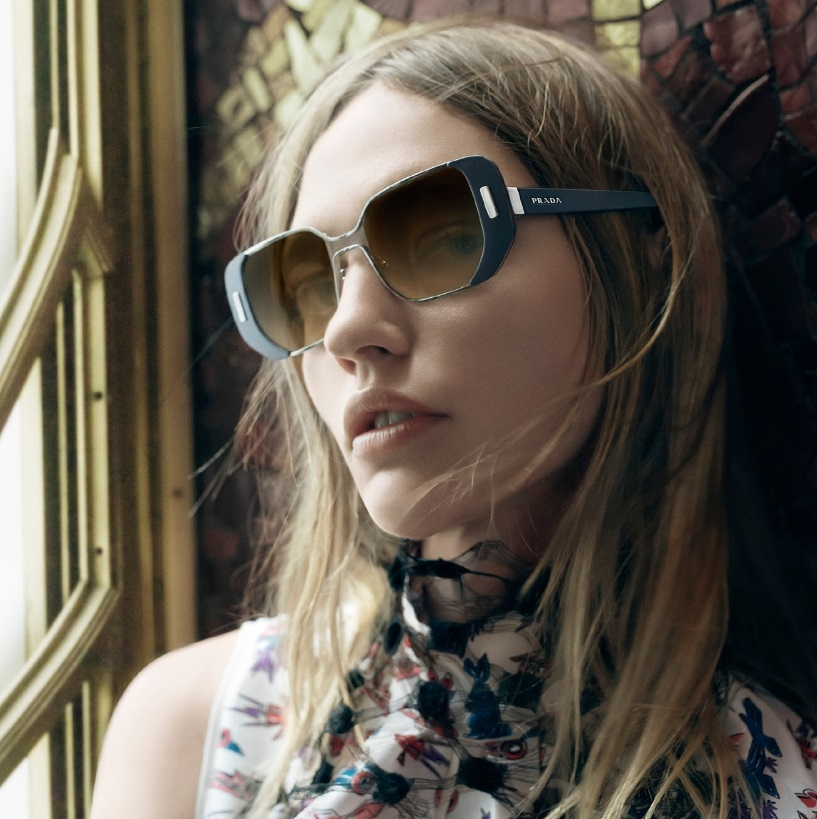 c02f15fe405 First Look at Prada SS16 Women s Eyewear Campaign