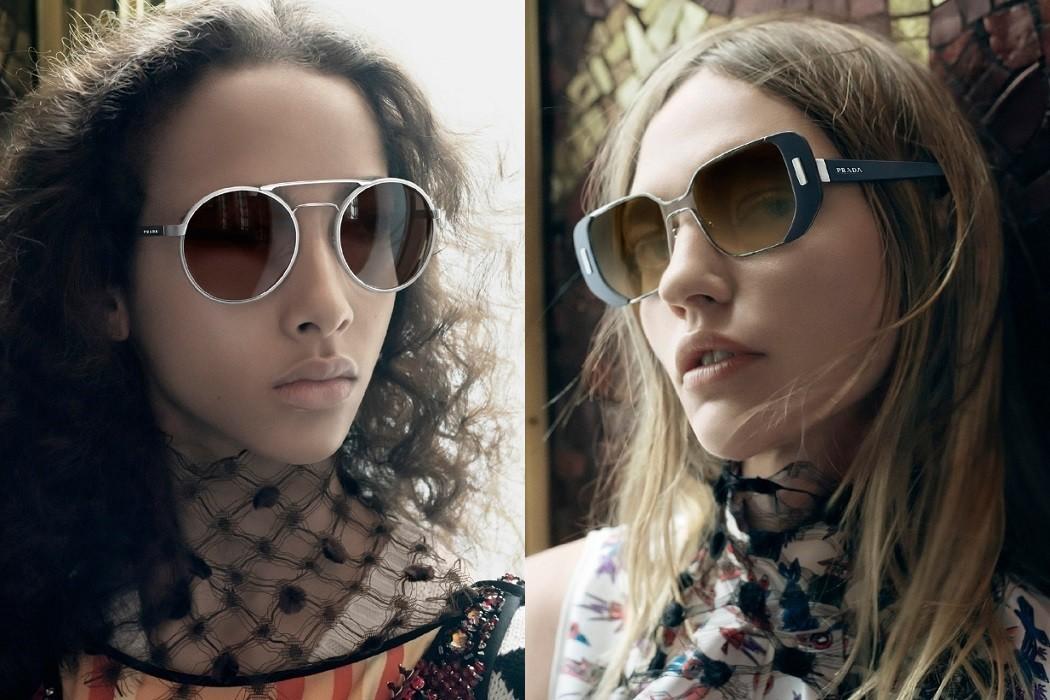 337ce6af784 First Look at Prada SS16 Women s Eyewear Campaign