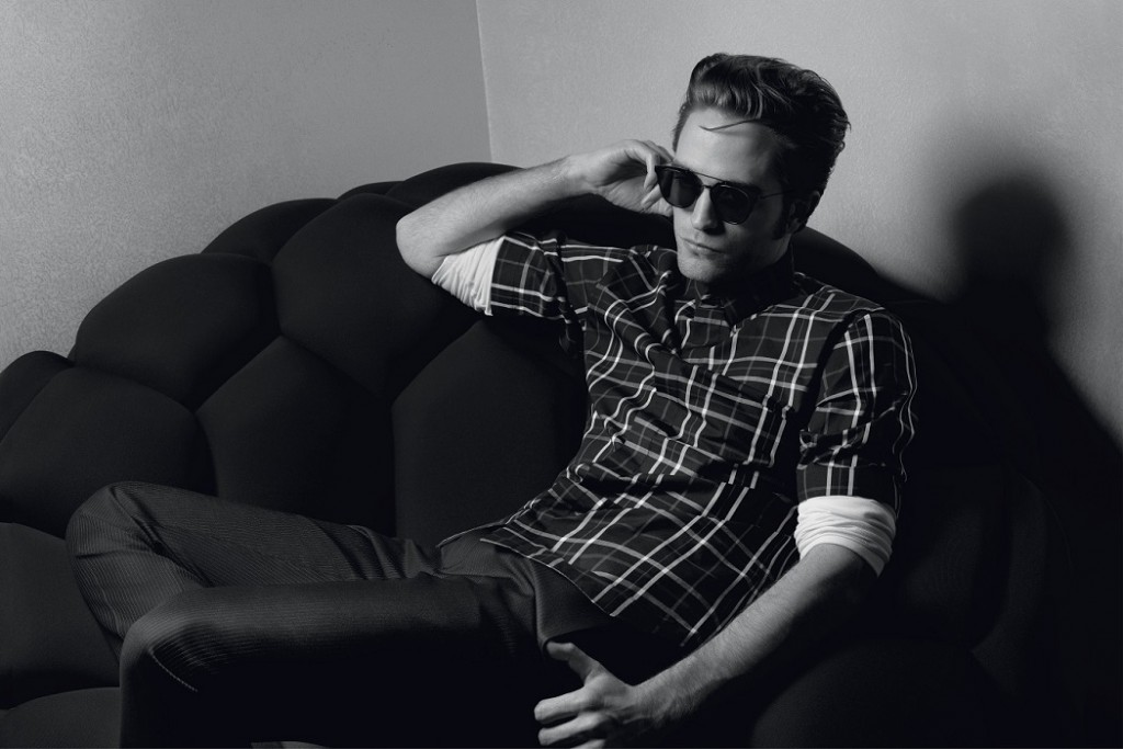 Robert Pattinson Dior Homme advertising campaign 2016