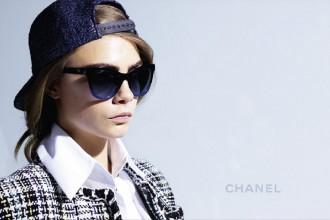 Chanel Spring Summer 2016 Eyewear Campaign Cara Delevingne