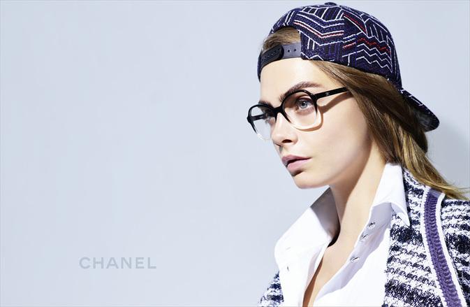 Chanel Glasses Spring Summer 2016 Cara Delevingne