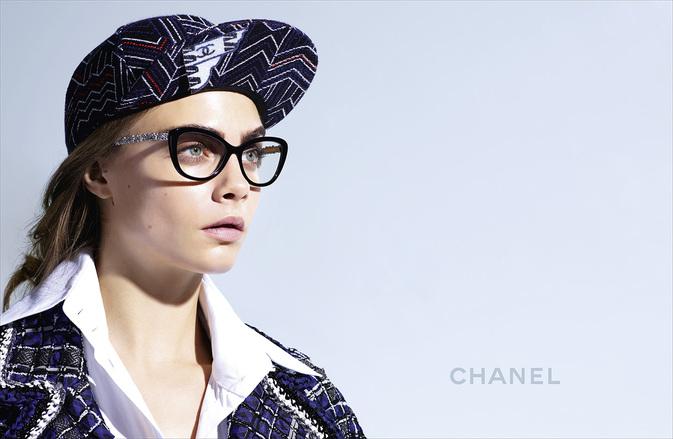 Chanel Eyewear Spring Summer 2016 Cara Delevingne