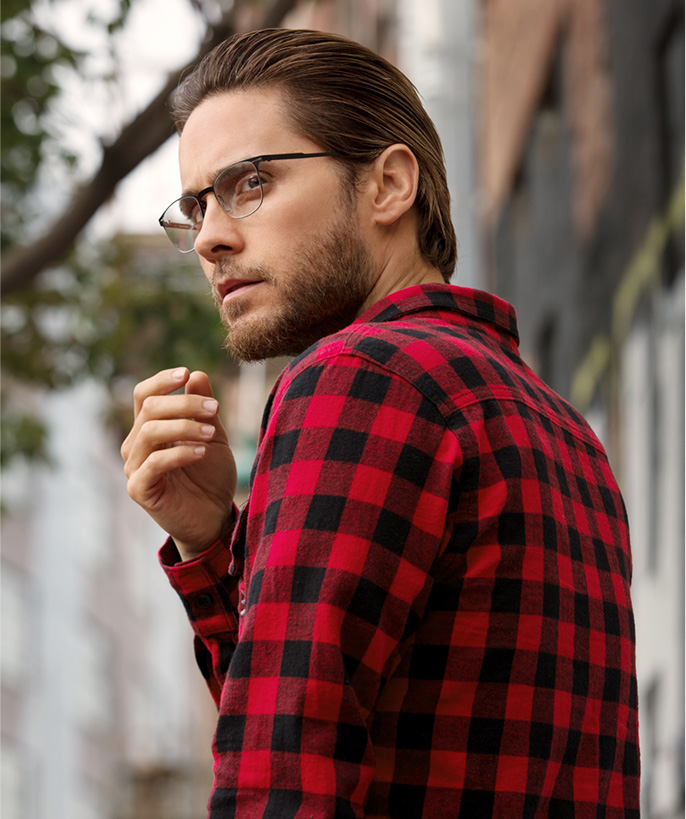 Jared Leto Carrera Maverick glasses
