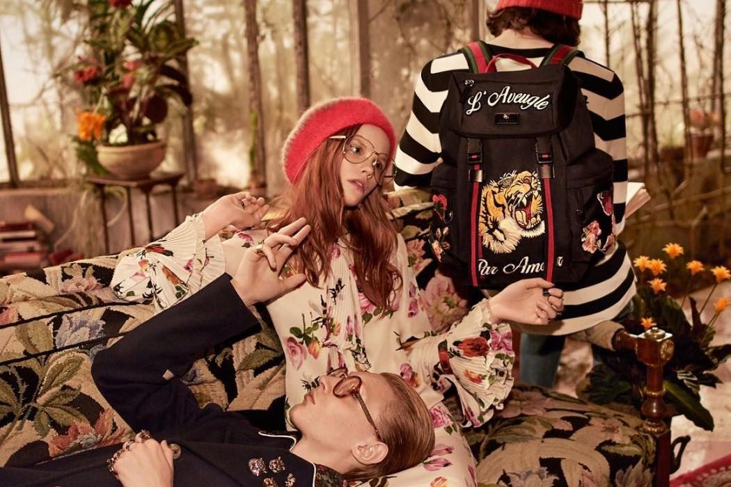 Gucci Pre Fall 2016 Campaign Glasses