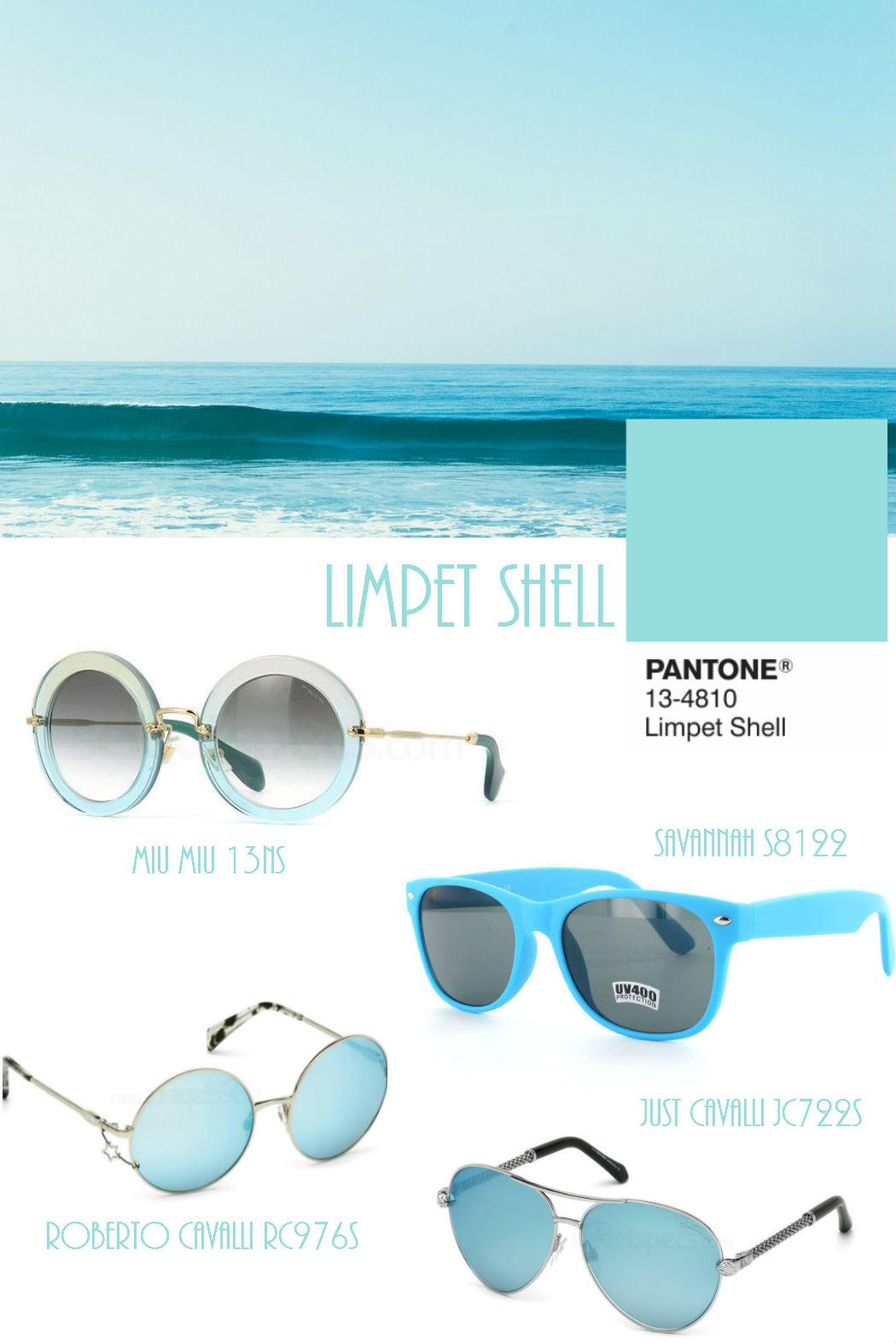 Pantone Limpet Shell sunglasses