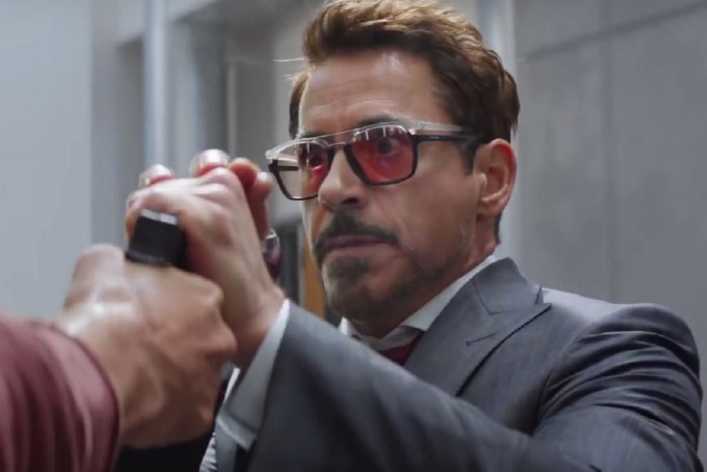 Robert Downey Jr S Sunglasses In Captain America Civil