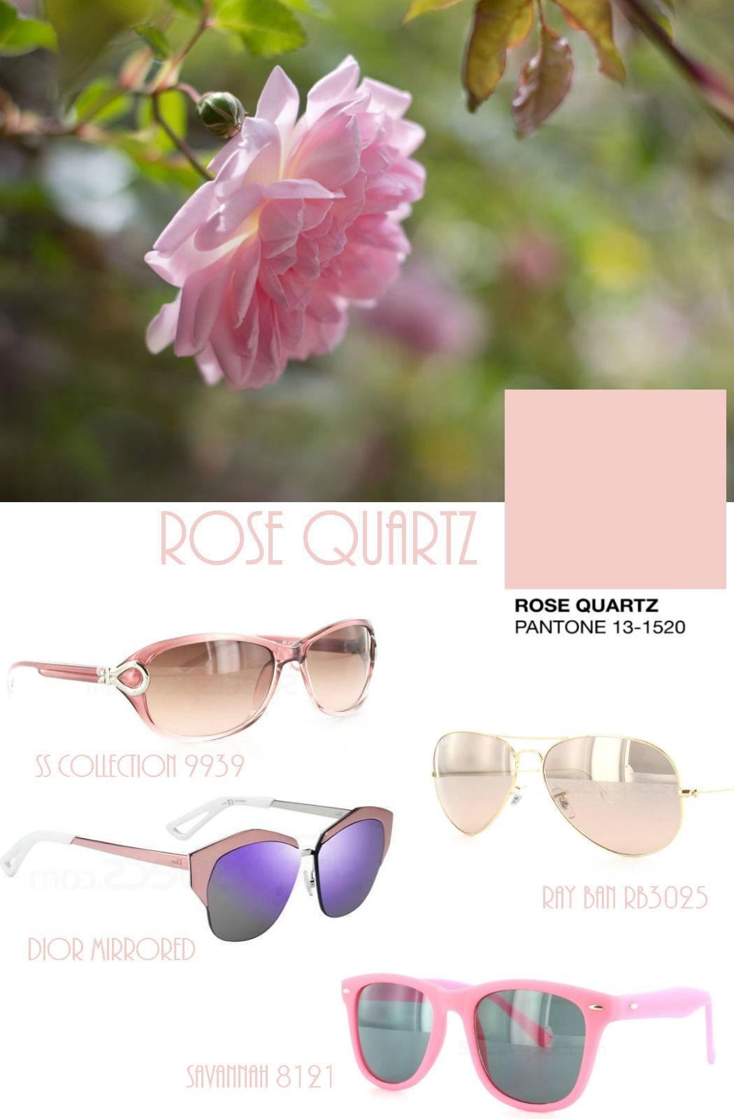 Pantone Rose Quartz sunglasses