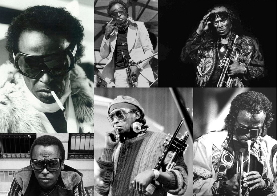 miles davis sunglasses retro