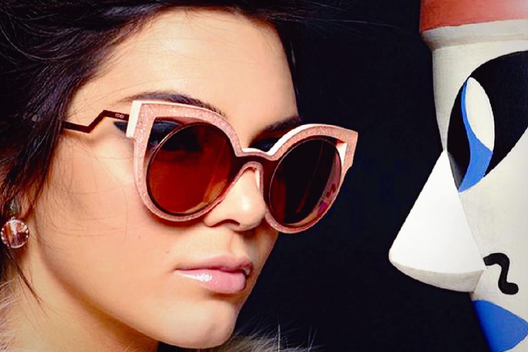 Fashion Trend Sonnenbrille Rund Stück Stück , Rot