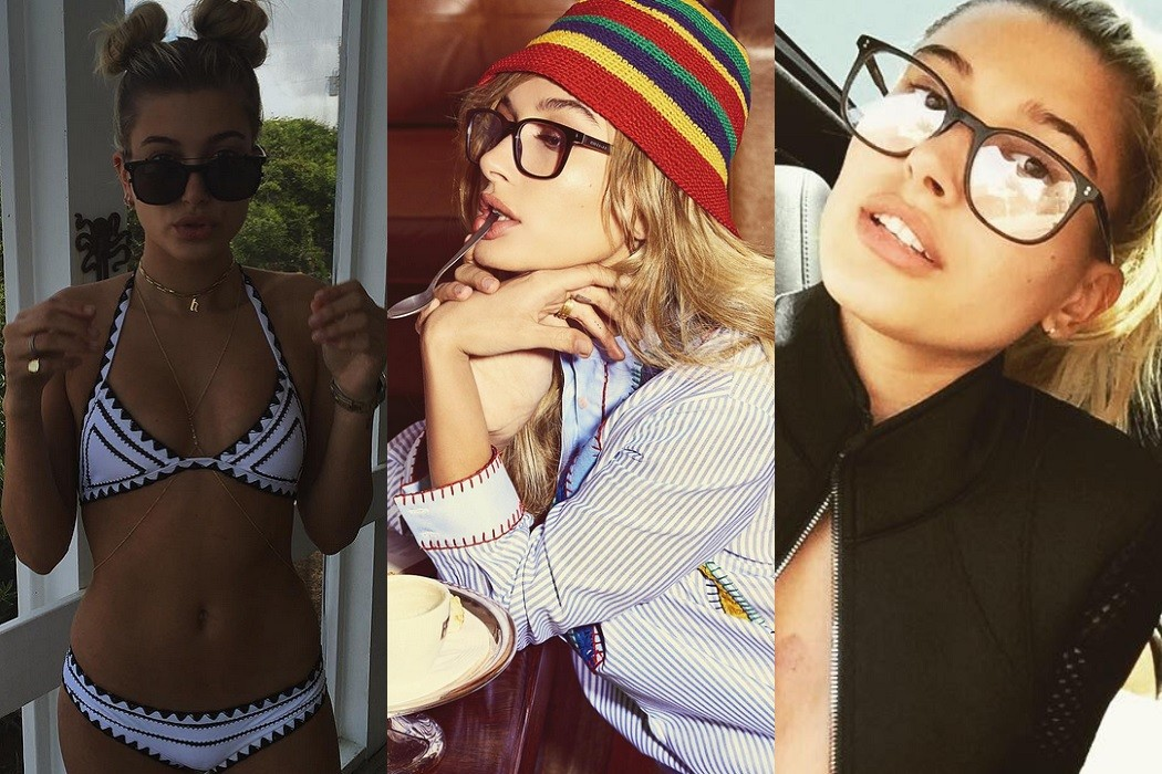 Hailey Baldwin glasses