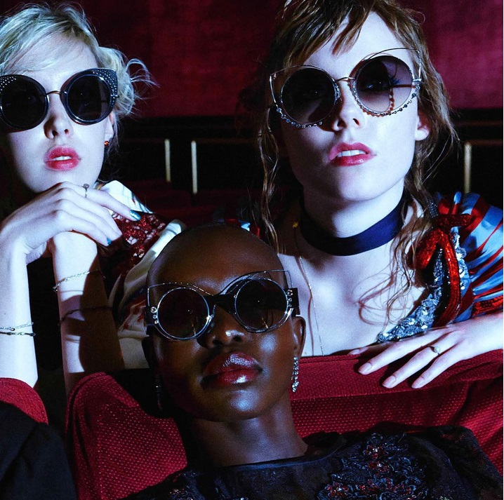 Marc Jacobs SS16 eyewear collection - transparent frames