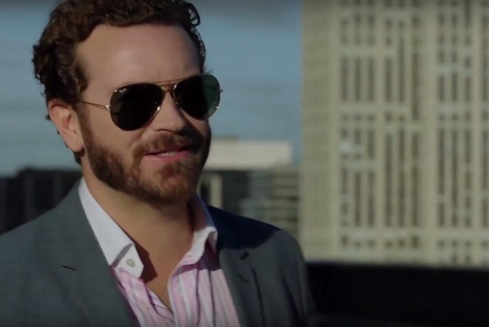 Urge sunglasses Danny Masterson