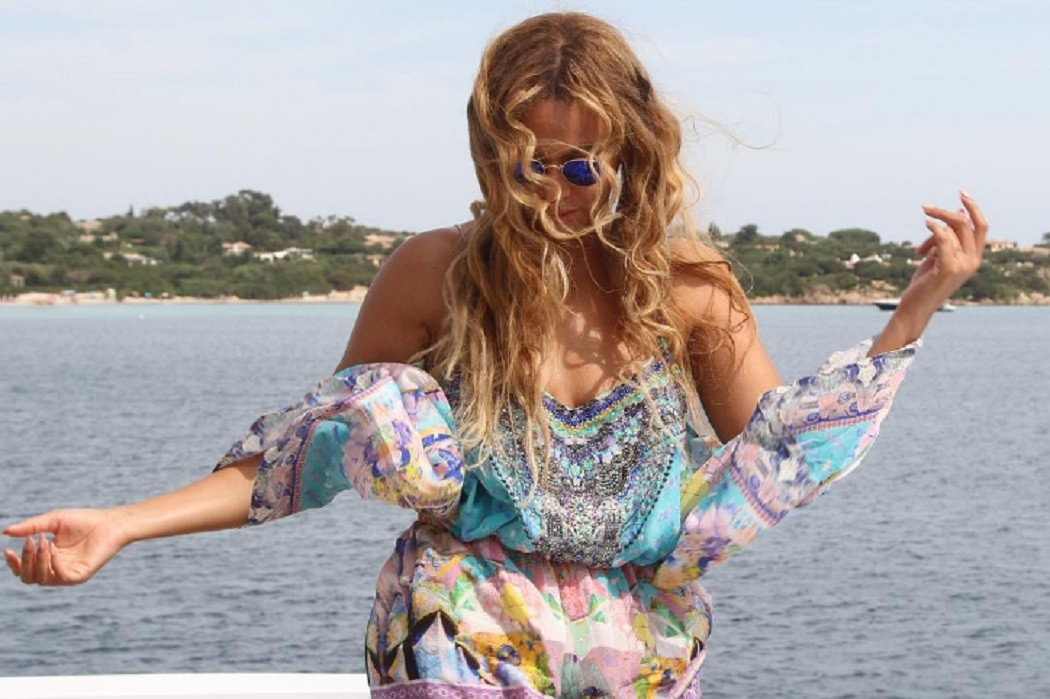 beyonce round sunglasses style steal