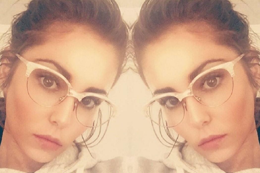 cheryl cole horn rimmed glasses