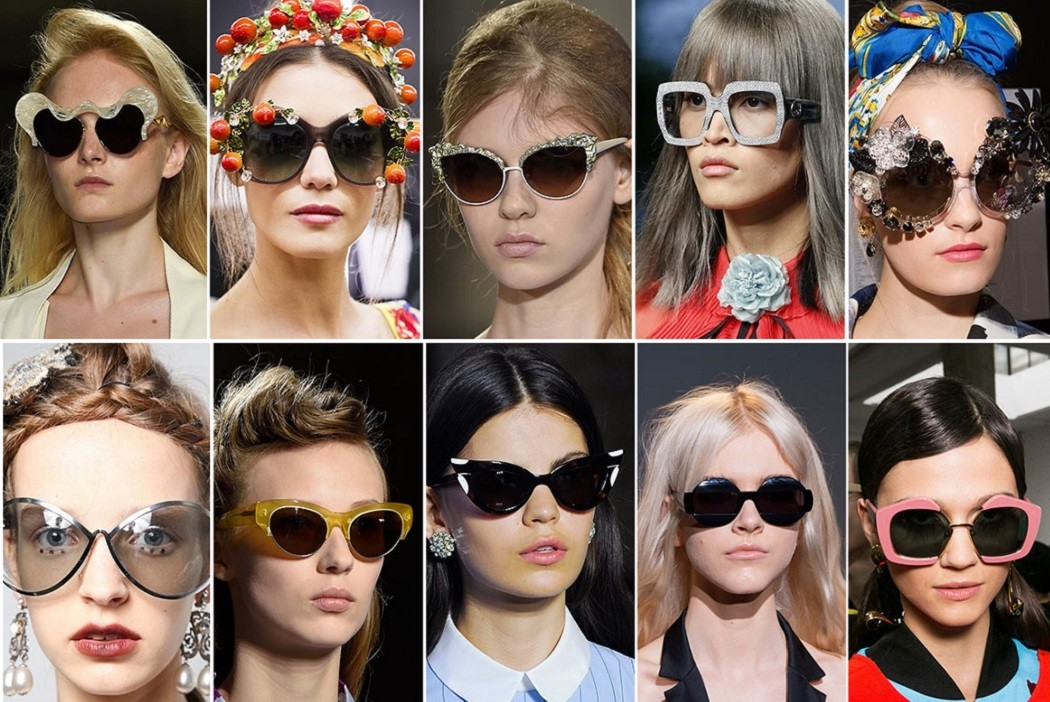 2016 sunglasses trends catwalk