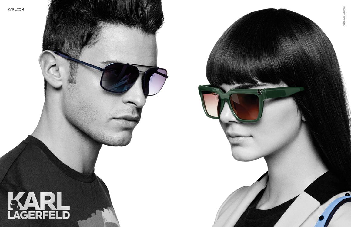karl lagerfeld kendall sunglasses