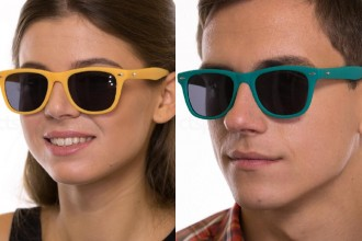 £10 wayfarer sunglasses bright colours