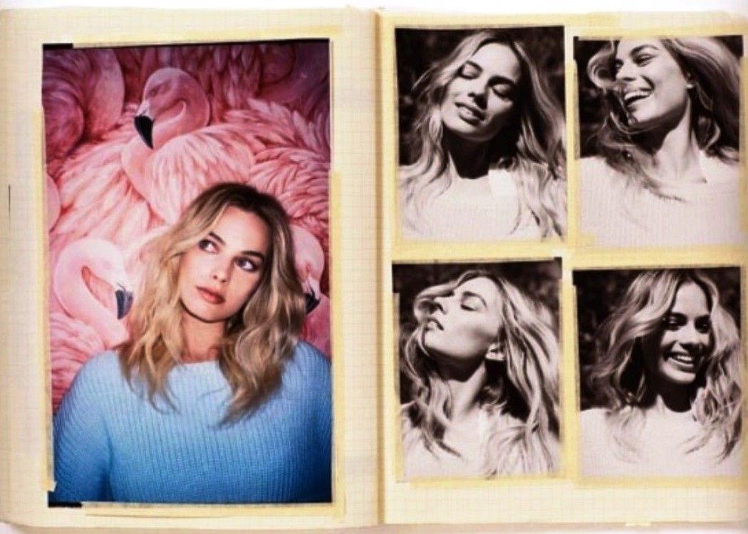 Margot Robbie Diary Photo Album