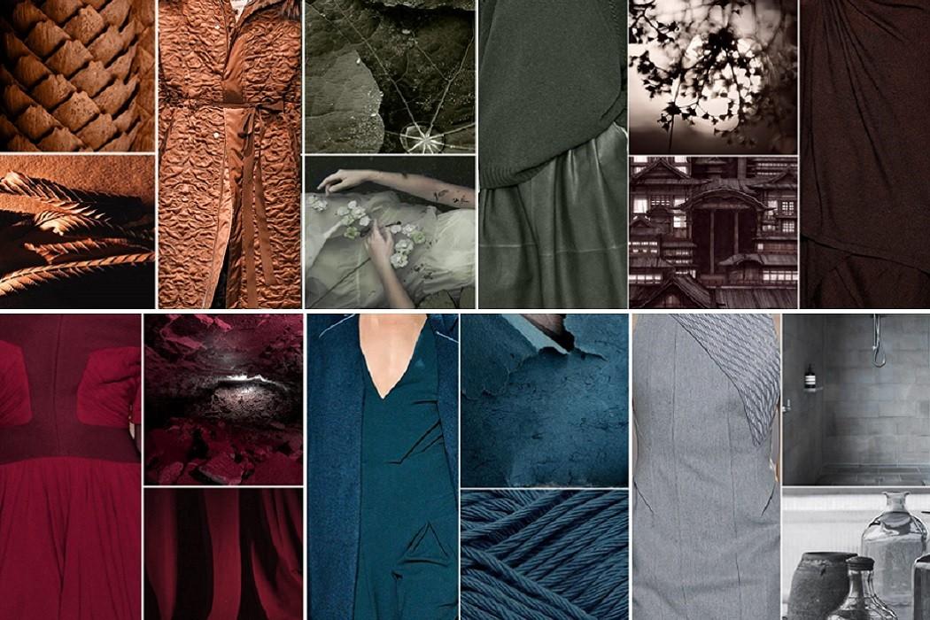 colour trends AW16 earth tones fashion