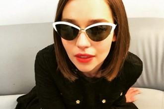 emilia clarke sunglasses get her look