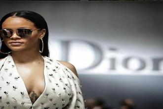 rihanna paris fashion week sunglasses