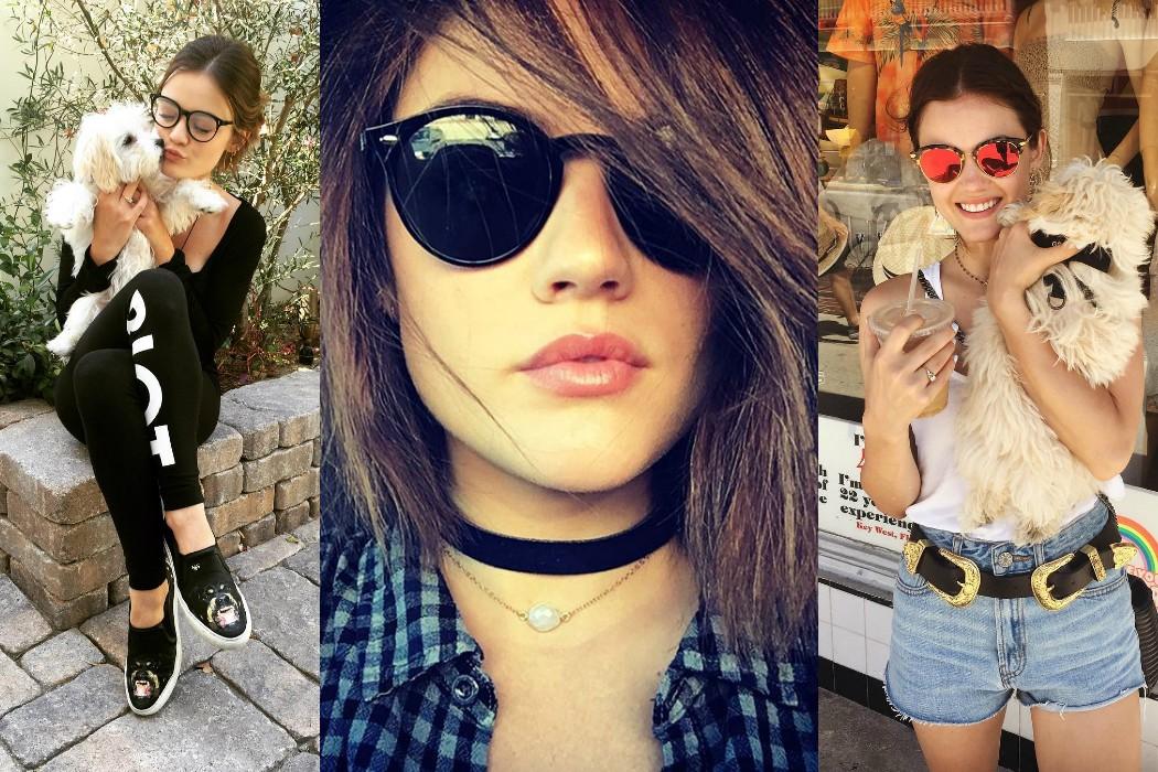fcb08e0c218 Lucy Hale s Top 6 Eyewear Looks